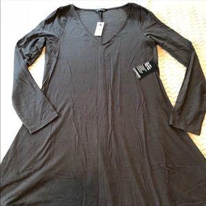 Black swing dress EXPRESS size large